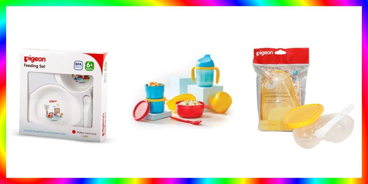 7 Set Alat Makan Bayi Terbaik Yang Sudah Standar SNI