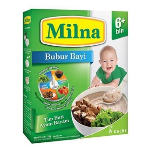 bubur bayi milna 6 bulan keatas