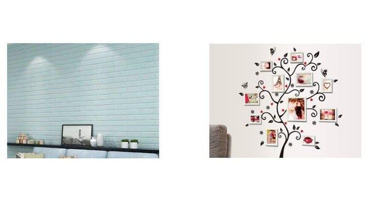 perbedaan wall  sticker