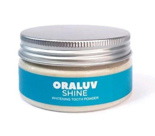 pemutih gigi alami serbuk oraluv shine