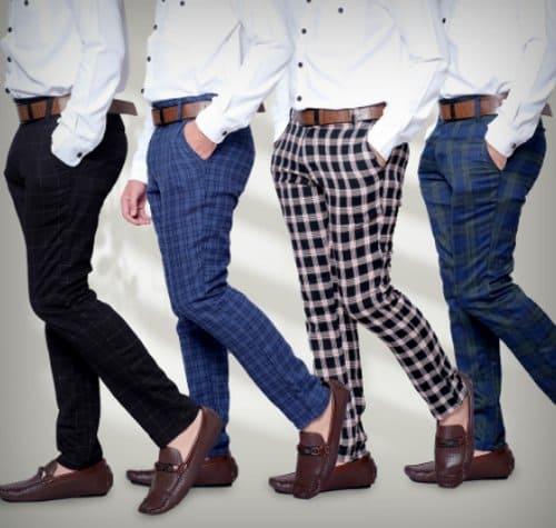 DGM Tartan Slim Fit Warna Lengkap