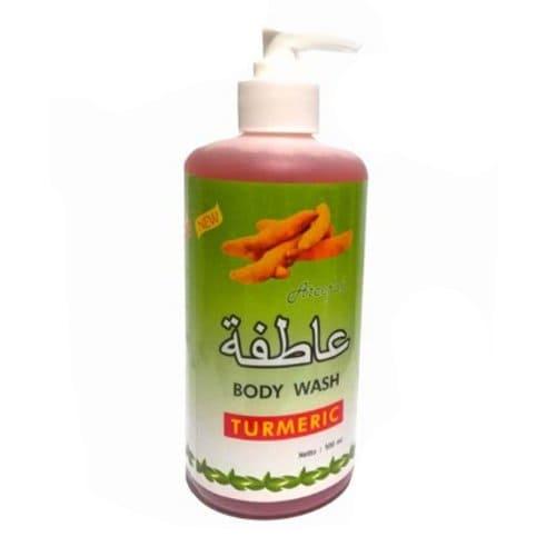 Sabun Cair Ateefah Body Wash Turmeric