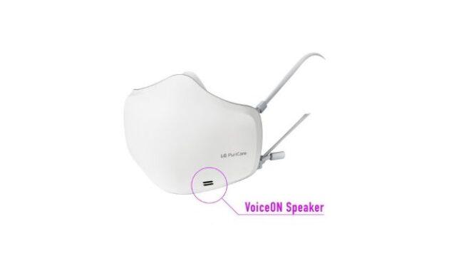Masker LG PuriCare Wearable AIr Purifier