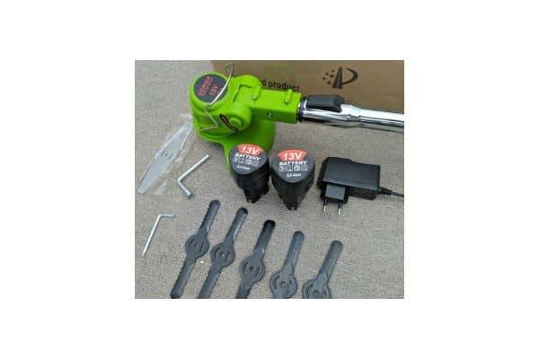 mesin pemotong rumput baterai