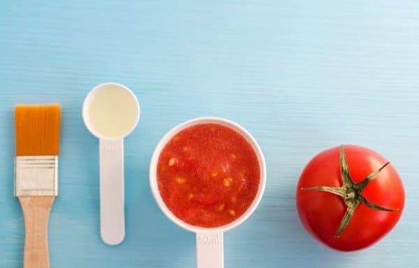 masker tomat untuk wajah