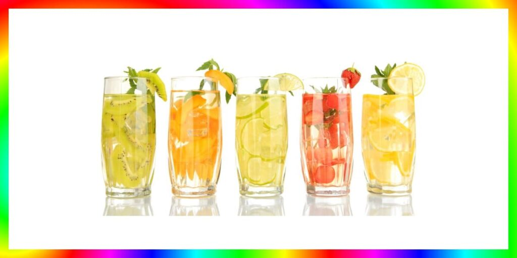 resep infused water terbaik