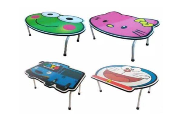 meja belajar anak karakter lucu