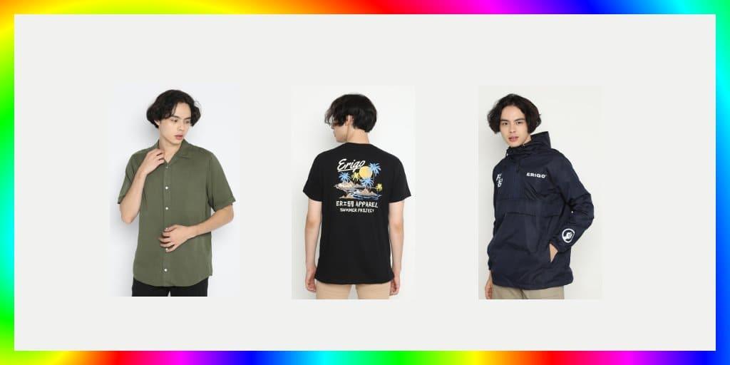 10+ Produk Fashion Erigo di Shopee Yang Paling Laris Penjualannya
